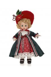 Main image of Victorian Yuletide vinyl doll by Madame Alexander