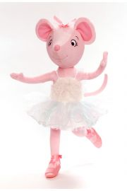 Main image of Swan Lake Angelina Ballerina plush doll by Madame Alexander