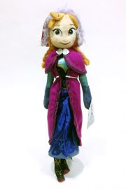 Photo of Frozen Anna Disney Princess plush doll.