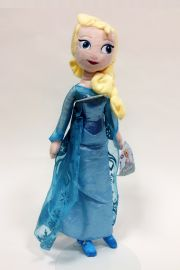 Image of Elsa plush doll from Disney movie Frozen