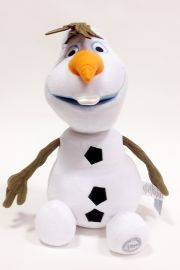 Image of plush doll Olaf snowman  from Disney movie Frozen