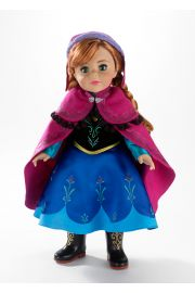Main image of disney Frozen Anna vinyl doll by Madame Alexander