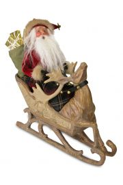 Image of Storybook Santa caroler figurine by Byers' Choice, Ltd.