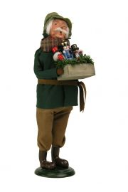 Image of Nutcracker Vendor 2015 caroler figurine by Byers' Choice, Ltd.