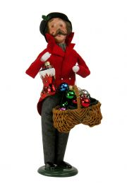 Image of Man with Glass Ornaments caroler figurine by Byers' Choice, Ltd.