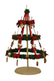 Image of Three-Tier Hoop Tree caroler figurine by Byers' Choice, Ltd.