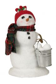 Image of Small Snowman with Snowballs caroler figurine by Byers' Choice, Ltd.