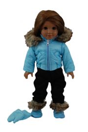The Queen S Treasures Complete Turquoise Legging Doll Clothing Outfit