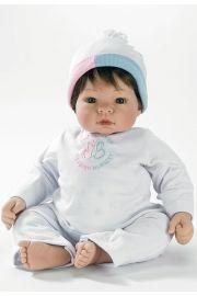 Image of Babblebaby Munchkin Brunette Madame Alexander doll