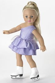 Image of Jazzy Ice Skater Madame Alexander doll