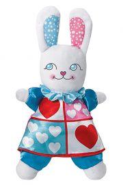 Image of White Rabbit Plush Madame Alexander doll
