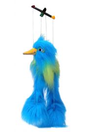 Photo of Blue Baby Bird Marionette PC001401 by The Puppet Company Ltd.