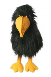 Photo of Large Crow Puppet PC113102 by The Puppet Company Ltd.