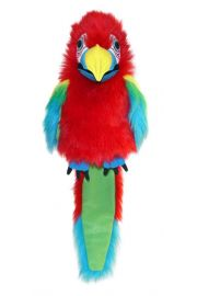 Photo of Large Amazon Macaw PC003115 by The Puppet Company Ltd.