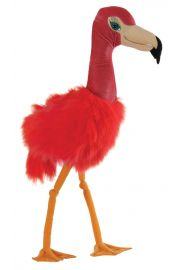 Photo of Large Flamingo Puppet PC008203 by The Puppet Company Ltd.