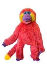 Photo of Funky Monkey Coral Colorful Monkey Puppet PC001602 by The Puppet Company Ltd.