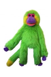 Photo of Funky Monkey Green Colorful Monkey puppet PC001601 by The Puppet Company Ltd.