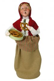 Photo of Bavarian Woman Byers' Choice Caroler figurine.