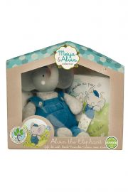 Image of Alvin the Elephant gift set with storybook.