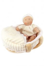 Image of Carry Cot Baby plush doll set by Bonikka
