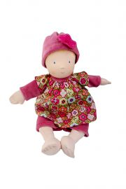 Image of Ruby soft plush play doll.