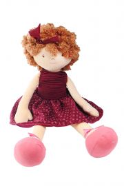 Image of Lola soft plush doll from Debutantes Collection