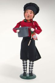 Photographic image of Chef with Chili Pot by Byers' Choice Ltd.