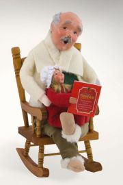 Photographic image of Night Before Christmas Grandfather by Byers' Choice Ltd.