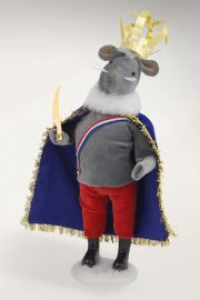 Photographic image of The Mouse King by Byers' Choice Ltd.