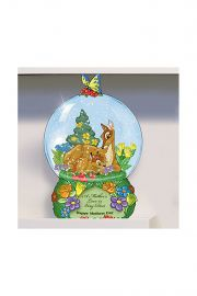 Photographic image of A Mother's Love is Very Deer Mini Snow Globe by Bradford Exchange.