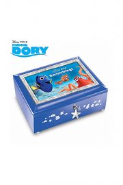 Photographic image of Just Keep Swimming Dory music box.