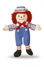 Photo of Raggedy Andy Classic 8 inch rag doll.