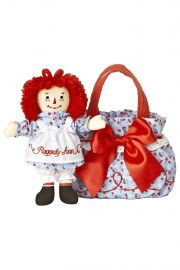 Photo of Raggedy Ann Fancy Pal Scrunchy 7in