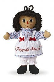 Photo of Raggedy Ann Classic Brunette 12in.