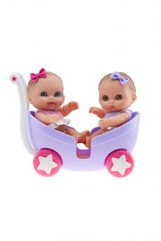 Photo of Lil' Cutesies Twins in Stroller from Berenguer.