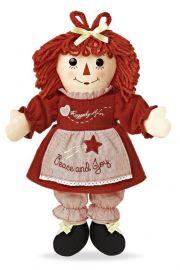 Photo of Raggedy Ann Peace and Joy Holiday rag doll by Aurora.