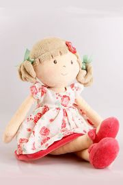 Photo of Bonikka plush doll Scarlett.