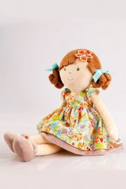 Photo of Summer plush doll by Bonikka.