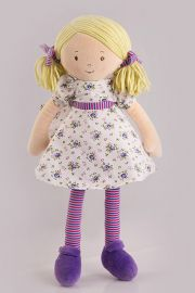Photo of Peggy plush doll from  Bonikka preschool Dames collection.
