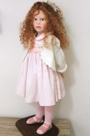 "Photo of ""It's Me"" one-of-a-kind doll by Elisa Gallea."