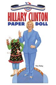 Photo of Hilary Clinton Collectible Paper Doll.