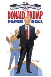 Photo of book cover Donald Trump Campaign edition Paper Doll.