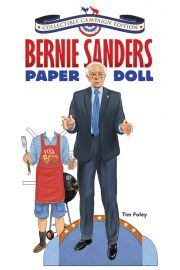 Photo of book cover Bernie Sanders Collectible Campaign Paper Doll.