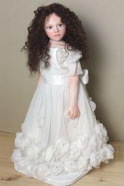 Full length photo of Rose doll by Elisa Gallea