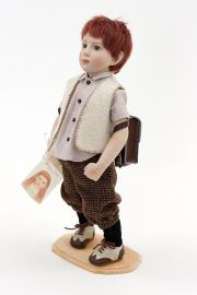 Collectible Limited Edition Porcelain doll Marcello by Beatrice Perini