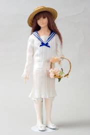 Collectible Limited Edition Wax doll Helena (white) by Paul Crees and Peter Coe