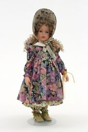 Collectible Limited Edition Vinyl doll Mary Mary Quite Contrary by Robert Tonner