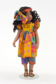 Collectible Limited Edition Vinyl doll Nina Print by Robert Tonner