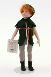 Collectible Limited Edition Porcelain doll Peter Pan by Robert Tonner