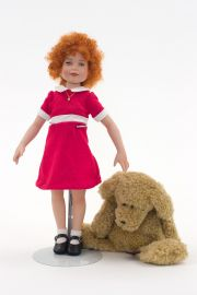 Collectible Limited Edition Porcelain doll Little Orphan Annie by Robert Tonner